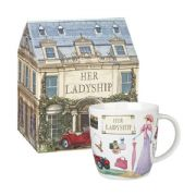 Churchill At Your Leisure Her Ladyship Mug in Hatbox